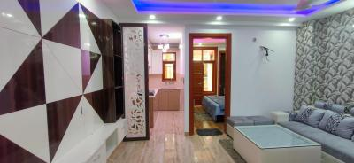 Gallery Cover Image of 650 Sq.ft 2 BHK Independent Floor for buy in Dwarka Mor for 3700000