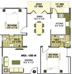 Gallery Cover Image of 1200 Sq.ft 2 BHK Apartment for rent in Smile Sunny Acura, Kasavanahalli for 20000