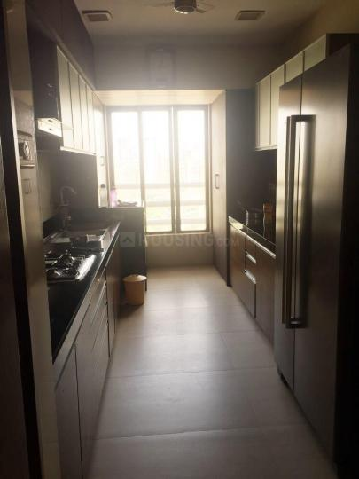 Kitchen Image of 2250 Sq.ft 3 BHK Apartment for rent in Malabar Hill for 450000