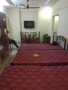 ठाणे वेस्ट में दीपू पीजी के बेडरूम की तस्वीर