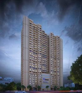 Gallery Cover Image of 633 Sq.ft 1 BHK Apartment for buy in Raunak Residency, Thane West for 6000000