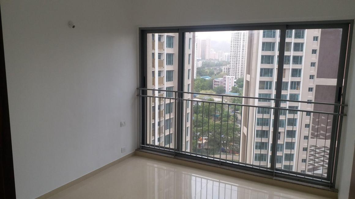Bedroom Image of 646 Sq.ft 2 BHK Apartment for rent in Thane West for 24000