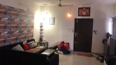 Gallery Cover Image of 1500 Sq.ft 2 BHK Apartment for rent in Muppa Aishwarya Condos, Narsingi for 25000