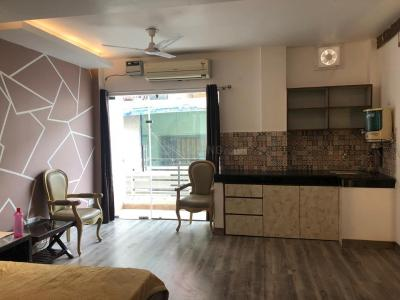 Gallery Cover Image of 450 Sq.ft 1 RK Independent Floor for rent in Hauz Khas for 30000