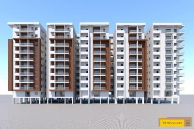 Gallery Cover Image of 1150 Sq.ft 2 BHK Apartment for buy in Beeramguda for 3600000