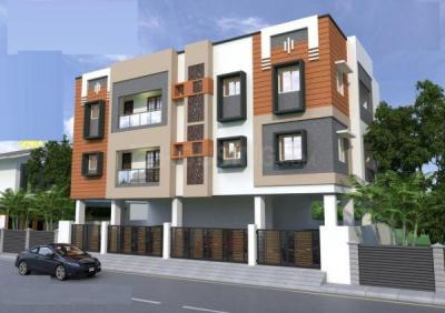 Gallery Cover Image of 755 Sq.ft 2 BHK Apartment for buy in Nanmangalam for 3020000
