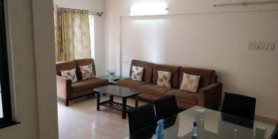 Gallery Cover Image of 823 Sq.ft 1 BHK Apartment for rent in Skyi Song Birds, Bhugaon for 15500