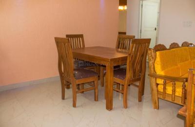 Dining Room Image of Flat No-104, Srinidhi Scintila Apartment in Nagavara