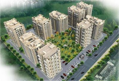Gallery Cover Image of 1400 Sq.ft 2 BHK Apartment for buy in Artique Uptown Skylla, Gazipur for 4960000