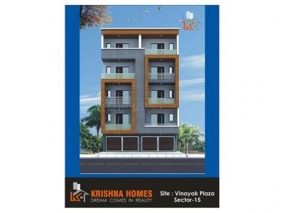 Gallery Cover Image of 900 Sq.ft 3 BHK Apartment for buy in Krishna Homes, Patel Nagar for 4320000