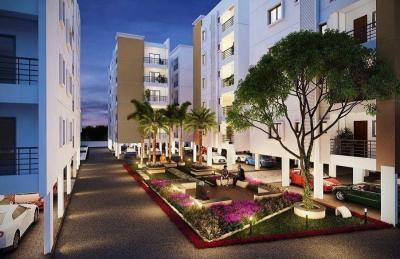 Gallery Cover Image of 1212 Sq.ft 2 BHK Apartment for buy in Signature Fortius, Isnapur for 3575400