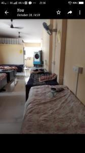 Bedroom Image of Amrutbaa Residency in Borivali East