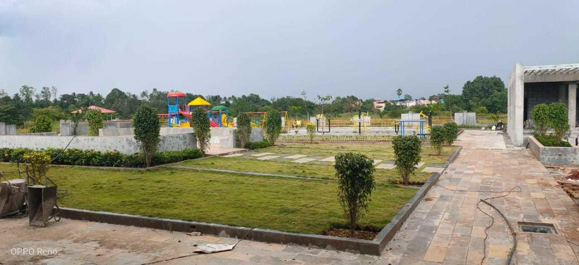 Garden Area Image of 543 Sq.ft 1 BHK Apartment for rent in Neral for 4500