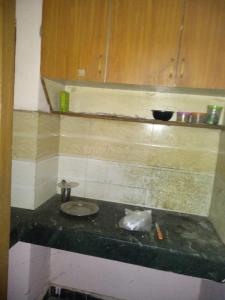 Kitchen Image of Luxurious Rooms PG in DLF Phase 3