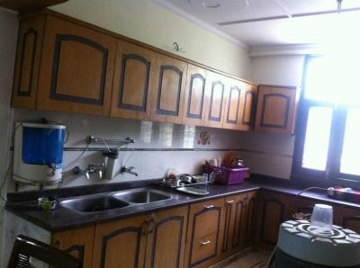 Kitchen Image of Ganpati PG Accommodation in Vasundhara