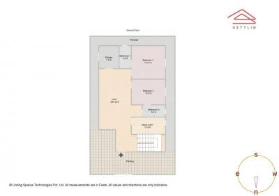 Gallery Cover Image of 3000 Sq.ft 4 BHK Apartment for buy in Zonasha Odion Rainbow Retreat, Halanayakanahalli for 16000000