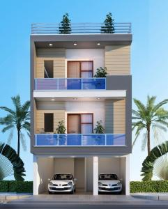 Gallery Cover Image of 1200 Sq.ft 2 BHK Independent Floor for buy in Crossings Republik for 2950000