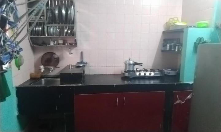 Kitchen Image of 725 Sq.ft 1 BHK Apartment for buy in Parvati Darshan for 5100000