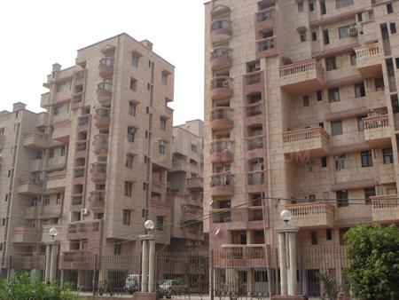 Building Image of 1500 Sq.ft 3 BHK Apartment for rent in Sector 22 Dwarka for 32000