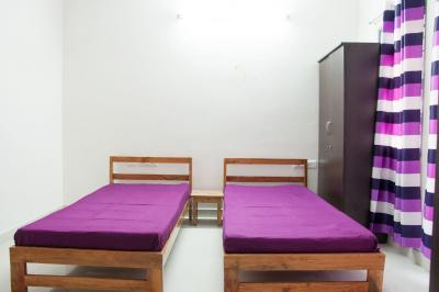 Bedroom Image of 102-suyogg Serenity Apartment in Mathikere