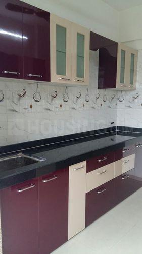 Kitchen Image of 645 Sq.ft 1 BHK Apartment for rent in Kamothe for 9500