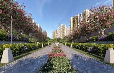Gallery Cover Image of 561 Sq.ft 1 BHK Apartment for buy in Runwal Gardens, Dombivli East for 3300000