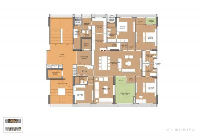 Gallery Cover Image of 6876 Sq.ft 4 BHK Apartment for buy in Venus Pashmina, Bodakdev for 61500000