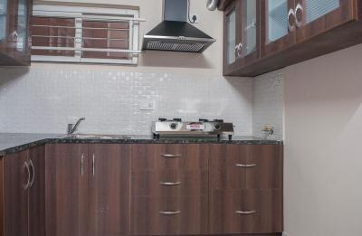 Kitchen Image of My Home Vihanga Flat 1203 in Gachibowli