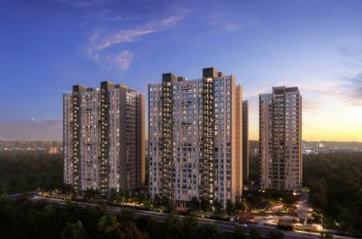 Gallery Cover Image of 1595 Sq.ft 3 BHK Apartment for buy in Godrej Green Glades, Jagatpur for 5600000
