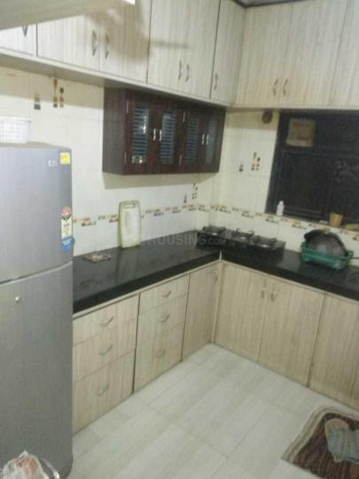 Kitchen Image of 500 Sq.ft 1 BHK Independent House for rent in Kopar Khairane for 20000