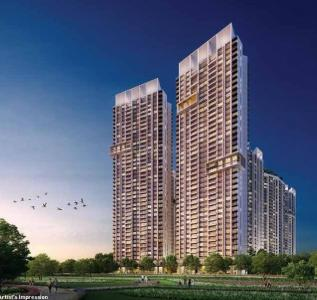 Gallery Cover Image of 450 Sq.ft 1 BHK Apartment for buy in Thane West for 7480000