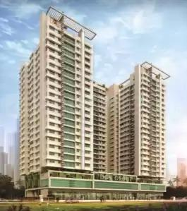 Gallery Cover Image of 696 Sq.ft 1 BHK Apartment for buy in Rizvi Cedar, Kandivali East for 8400000
