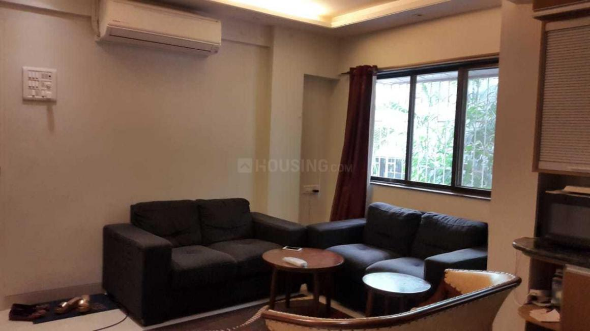 Living Room Image of 600 Sq.ft 1 BHK Apartment for rent in Bandra West for 65000