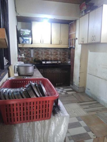 सेक्टर 20 में स्मार्ट पीजी फॉर गर्ल्स के किचन की तस्वीर