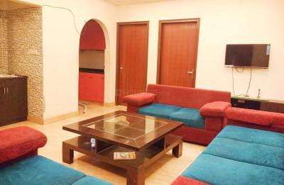 Gallery Cover Image of 1350 Sq.ft 3 BHK Independent House for rent in Khirki Extension for 35000