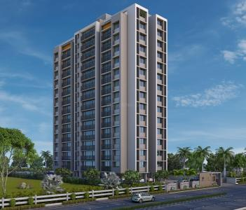 Gallery Cover Image of 1235 Sq.ft 2 BHK Apartment for rent in Bopal for 25000