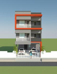 Gallery Cover Image of 1050 Sq.ft 2 BHK Independent Floor for rent in Thoraipakkam for 27000
