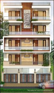 Gallery Cover Image of 1800 Sq.ft 3 BHK Independent Floor for buy in Green Field Colony for 7150000