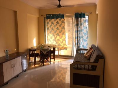 Gallery Cover Image of 650 Sq.ft 1 BHK Apartment for rent in  The Pearl, Vichumbe for 9000