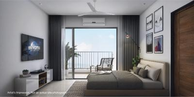 Gallery Cover Image of 591 Sq.ft 1 BHK Apartment for buy in The Highlands Godrej City Panvel, Panvel for 4922632