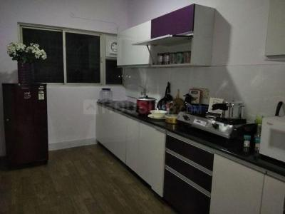 Kitchen Image of Purvi Mithila Apartment in Munnekollal