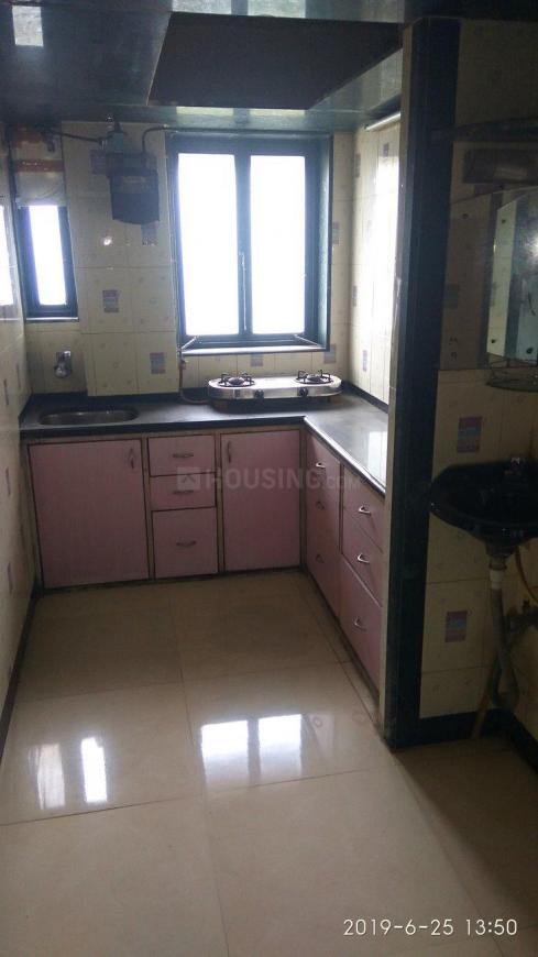 Kitchen Image of 650 Sq.ft 2 BHK Apartment for rent in Kanjurmarg East for 24000
