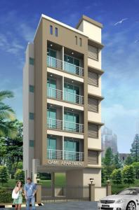 Gallery Cover Image of 850 Sq.ft 2 BHK Apartment for buy in Ghansoli for 8000000