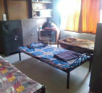 Bedroom Image of PG 4314365 Sangamvadi in Sangamvadi