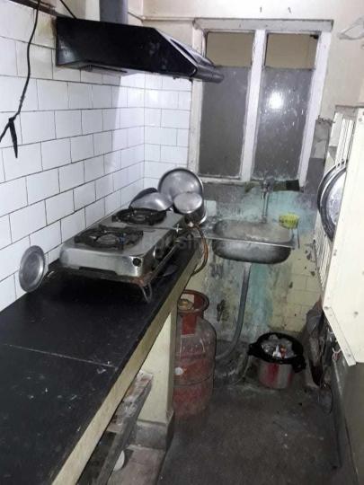 बेहाला में निलवा घोष बेहाला पीजी के किचन की तस्वीर