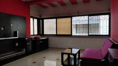 Gallery Cover Image of 650 Sq.ft 1 BHK Apartment for rent in Vrindavan Society, Thane West for 17500