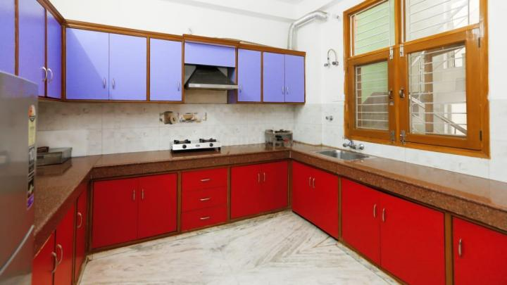 डीएलएफ़ फेज 1 में एन.वाई के किचन की तस्वीर