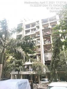 Gallery Cover Image of 450 Sq.ft 1 BHK Apartment for rent in Rainbow CHS, Airoli for 12000