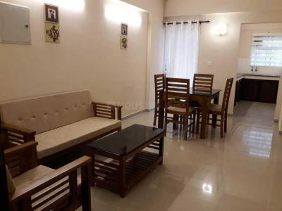 Gallery Cover Image of 820 Sq.ft 2 BHK Apartment for rent in Shwas Fortuna, Thrippunithura for 14500