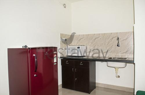 Kitchen Image of Krishnamurthy Nest Studio 01 in Murugeshpalya